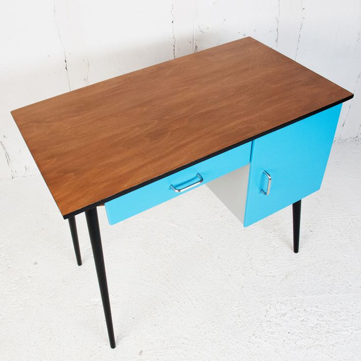 bureau baumann 1960 vintage revisit bureau baumann vintage meubles pinterest baumann. Black Bedroom Furniture Sets. Home Design Ideas