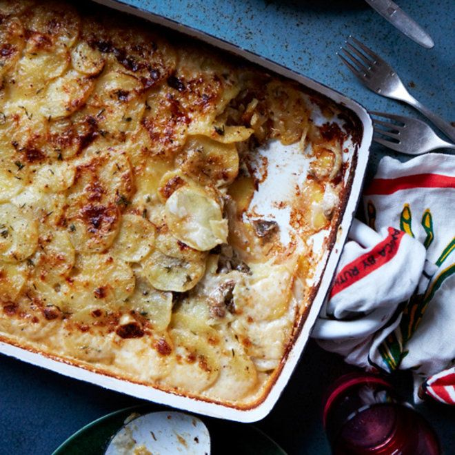Cheese and potatoes are a match made in side dish heaven.
