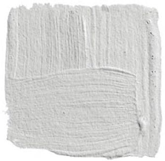 "Benjamin Moore ""Horizon""  ""The color I find most beautiful and chic is gray. But it's very hard to procure that perfect, soft, luminescent, silvery gray shade you see in gunmetal, silver, zinc, or pewter. To try to get that color in a surface that's nonre"