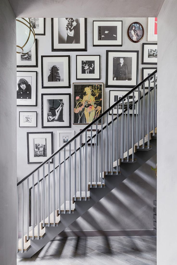 Make Like Kate | Creating a staircase photo gallery | Frames | Memories | Simple yet effective