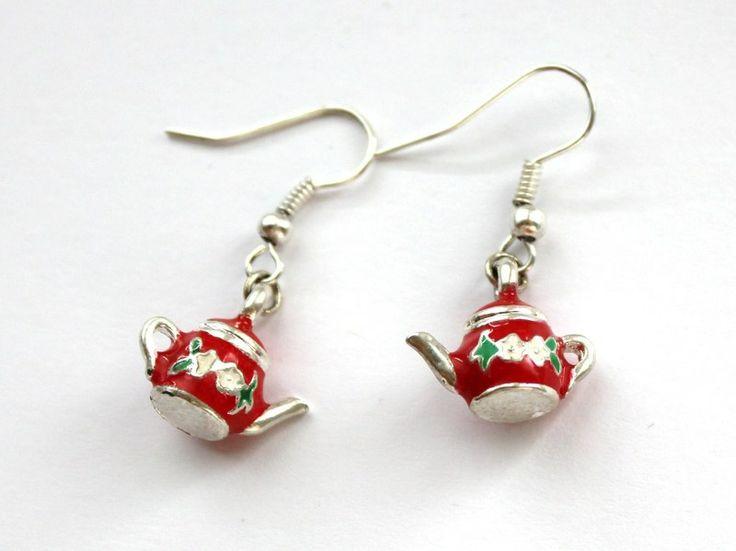 Kolczyki Imbryczki w Especially for You! na http://pl.dawanda.com/shop/slicznieilirycznie  #kolczyki #earrings  #handmade #DaWanda #imbryczki #teapots
