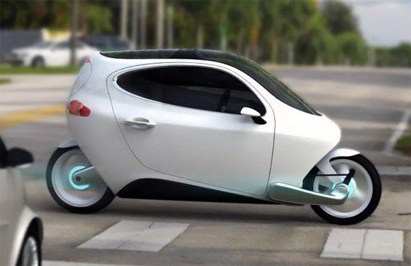 C-1 electric vehicle