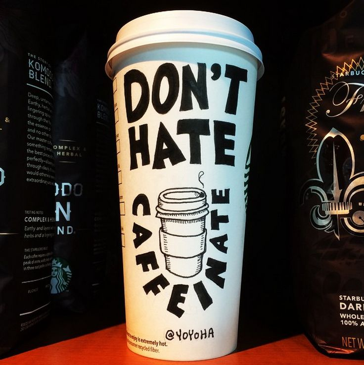 A great artist named Josh Hara created art everyday on his coffee cups. Definately inspirational!
