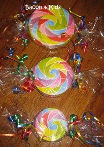 faux candy decorations