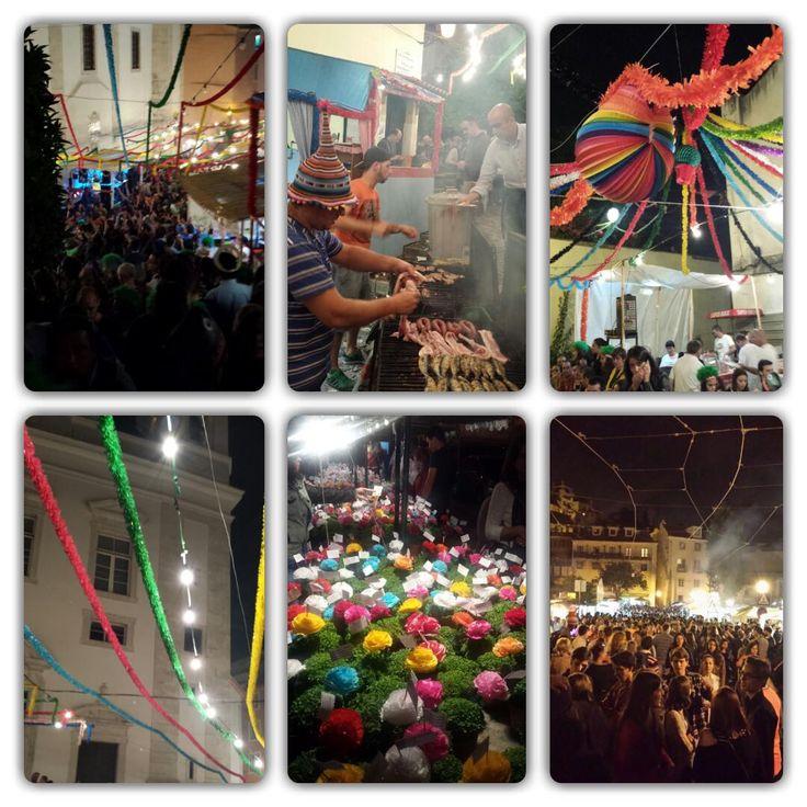 SANTOS POPULARES- ALFAMA- PORTUGAL http://amantesdeviagens.com/