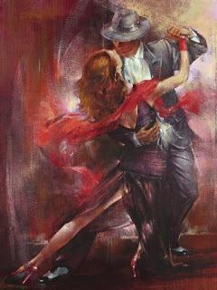 Music. Dance. Art = my passions. Tango