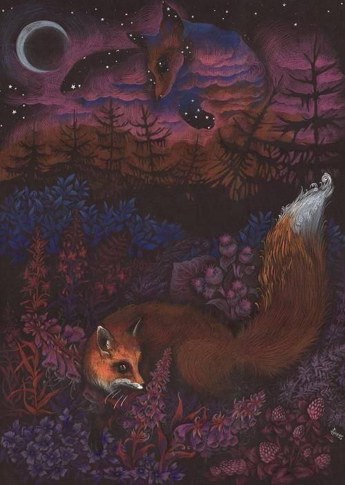 """""""Twilight Fox"""" by MukilteoCasualtie"""