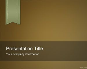 Free Brown e-Learning PowerPoint Template is a nice brown abstract template that we can download and use for academic presentations