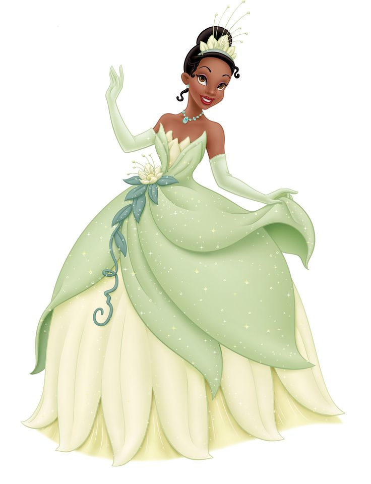 Images of Tiana from The Princess and the Frog.
