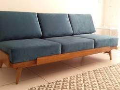 Sofa PRL, loft, vintage, lata 60, loft design