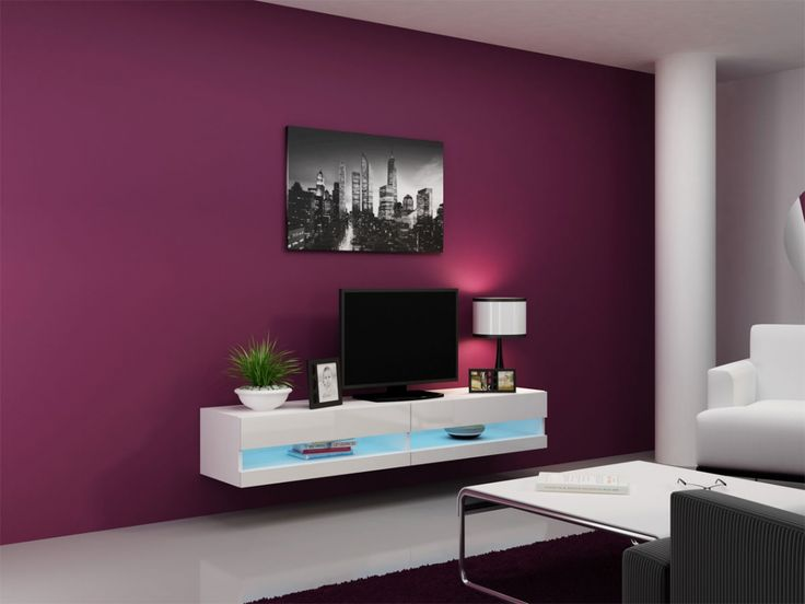 187 best Wohnzimmer images on Pinterest Living room, Buffet and - wohnzimmer grau magenta