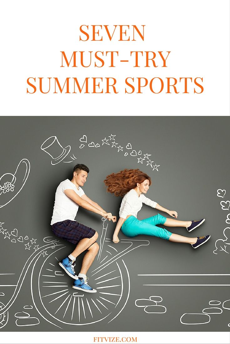 Workout Motivation|Fitness|Lifestyle Why sweat in gym when summer provides endless opportunities to burn calories outdoors and have fun at the same time? Try these 7 sport activities which could turn out to be real adventures you will remember for months after. https://fitvize.com/2016/07/19/7-must-try-summer-sports/