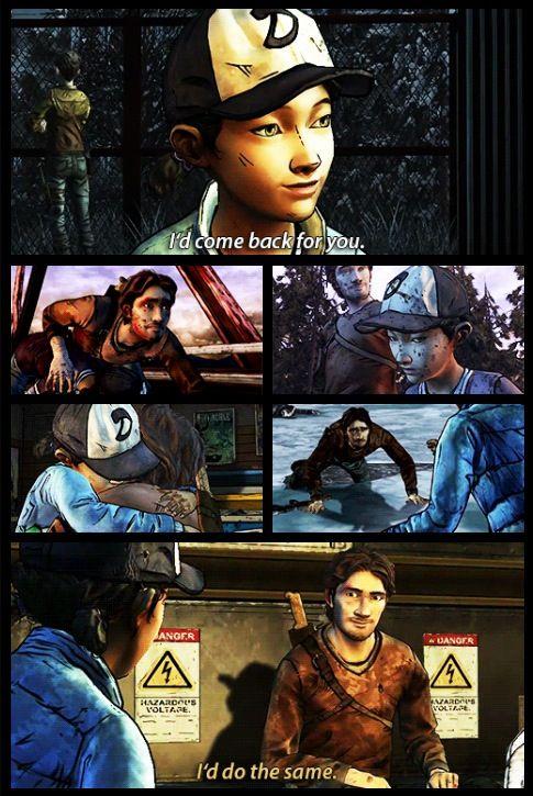 """I'd do the same"" Clementine and Luke | The Walking Dea Telltale game season 2 twdg"