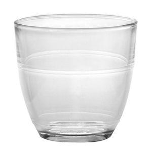Verre Duralex en verre tremp� par 6 Gigogne (3 tailles)
