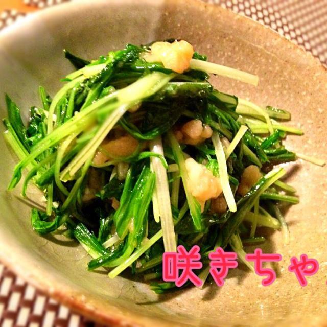 とても簡単で早く出来て、しかも美味しい、主婦には嬉しいこのレシピ 天かすのおかげで水菜にコクが出て美味しい akikoさん、美味しいレシピありがとうございます - 180件のもぐもぐ - akikoさんの水菜の天かす炒め by 咲きちゃん