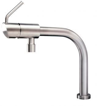 Looks more like a beer tap than a faucet!