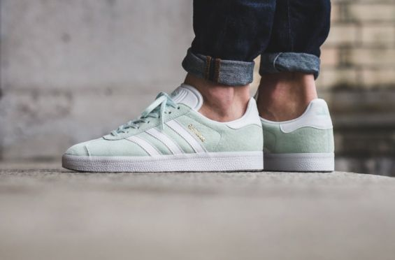 The adidas Gazelle In Ice Mint Is Ready For Summer http://SneakersCartel.com…