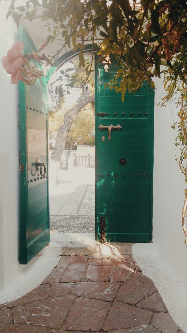 A get away. Bouboulina's Museum, Spetses Island Greece