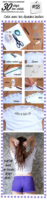 epaules lacees DIY