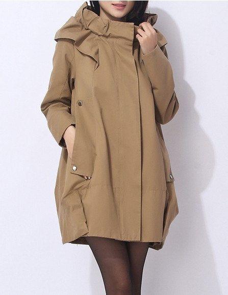 4-color high quality women  Cotton coat  long coat wind coat/ jacket /outwear/ parka/ women coat  Spring  autumn coat C136
