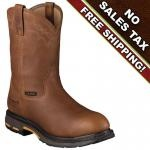Ariat Work Boots Mens WorkHog Pull On H20 CT