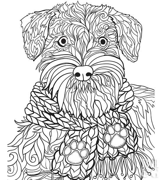 Here Are 24 Free Pet Coloring Pages To Help You Relax Puppy Coloring Pages Dog Coloring Book Dog Coloring Page