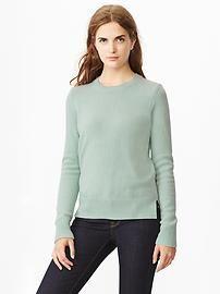 Suéter menta de lana de GAP