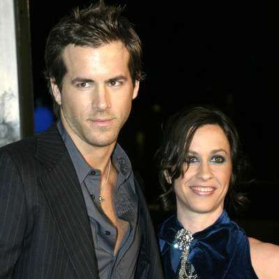 Most Surprising Hollywood Marriages | Famous People You Didn't Know Were Married to Each Other Alanis Morissette and Ryan Reynolds