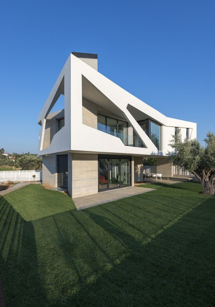 Paradox House in Greece 2013 by Klab Architecture via archdaily.com