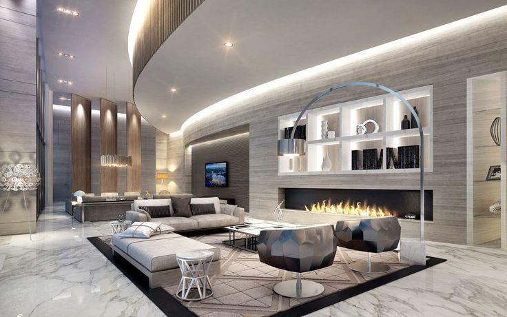 15 Luxuriose Wohnzimmer Designs Atemberaubend Luxus Wohnzimmer