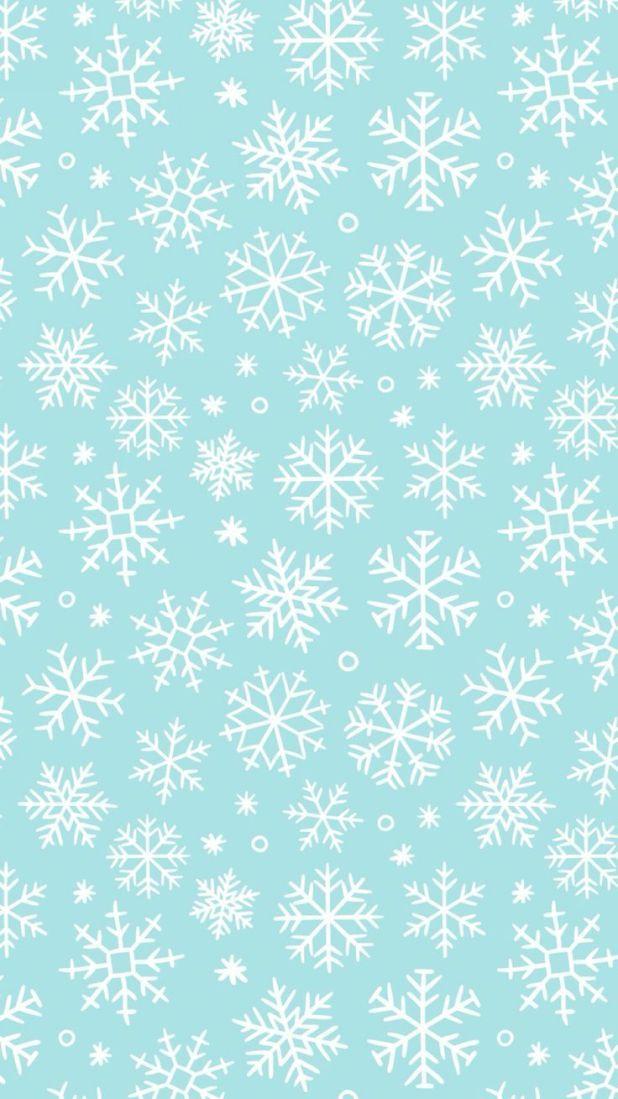 Tourquoise Snowflake Wallpaper Christmas Phone Wallpaper Wallpaper Iphone Christmas