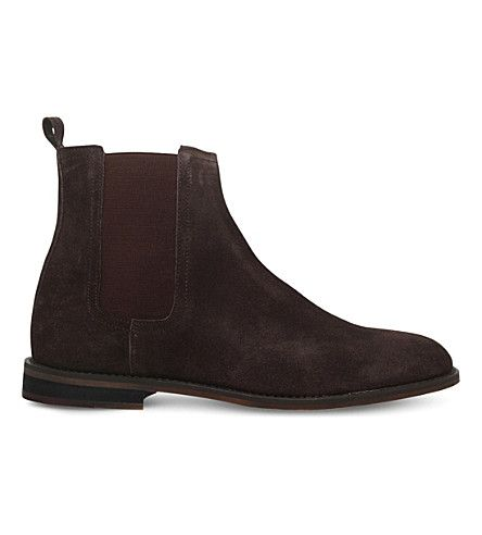 Cole Suede Chelsea Boots, Brown