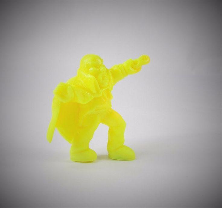 Monster in my Pocket - Series 1 - 38 The Phantom - Neon Yellow NY MEG MIMP