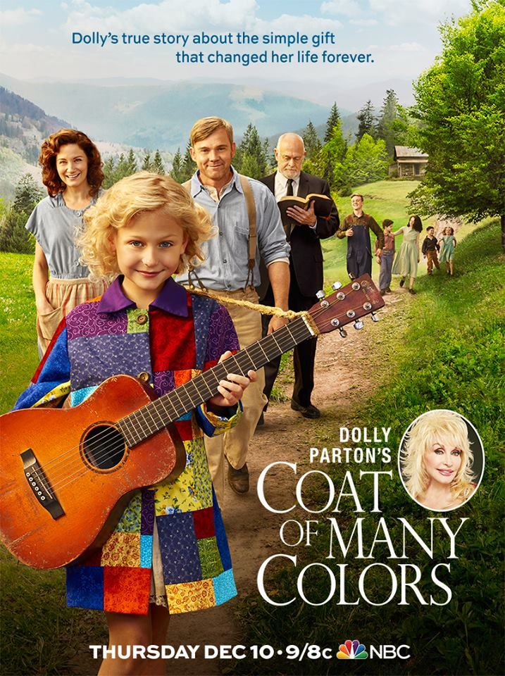 WATCH: Y&R's Alyvia Alyn Lind Playing Country Legend Dolly Parton In 'Coat of Many Colors'