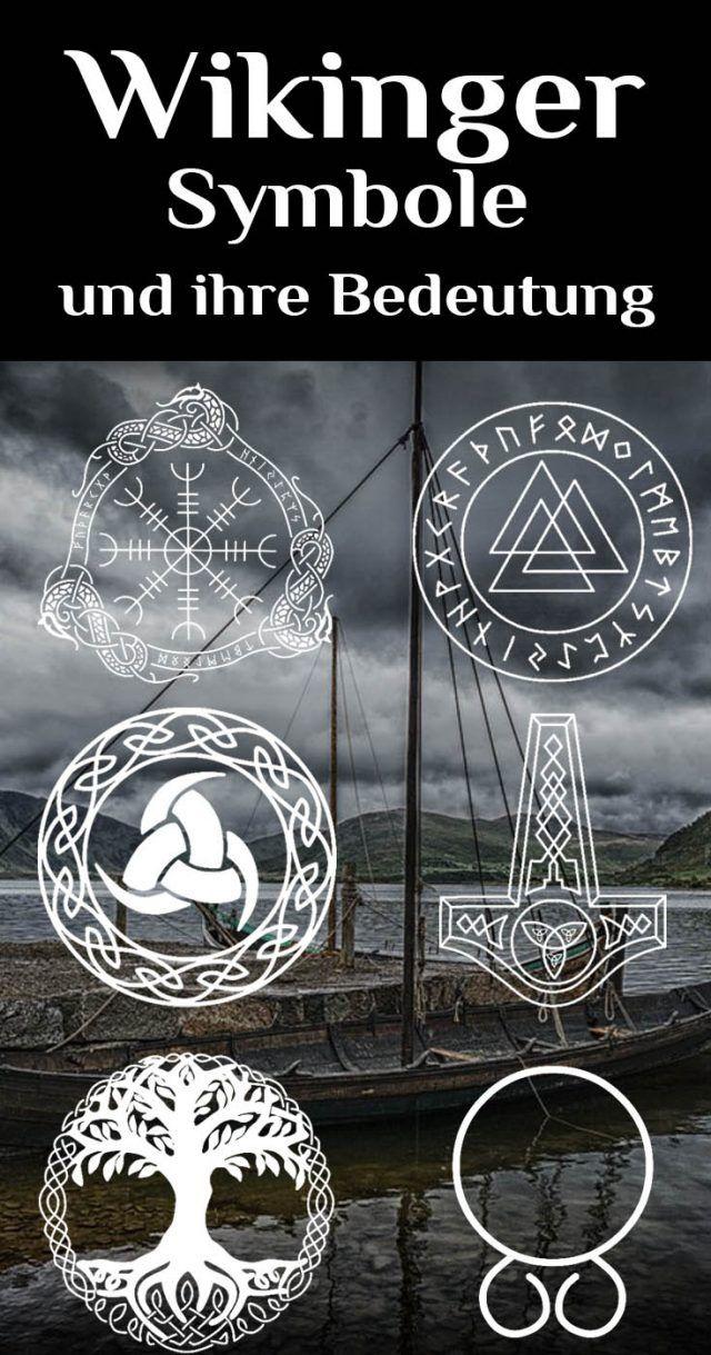 Großartige Tattoo-Ideen | Viking symbols, Symbols and