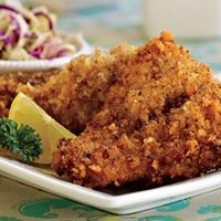 Reel in a yummy meal tonight! Crispy Cayenne Catfish