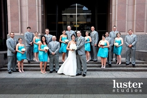 Turquoise And Grey Wedding I Love This My Colors