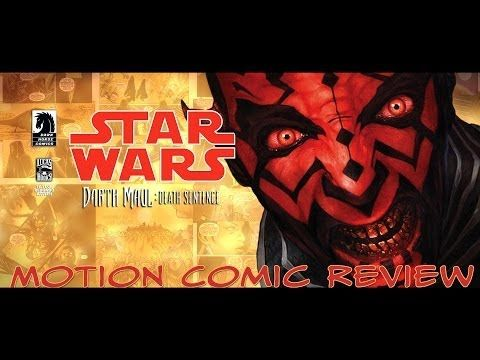 """Darth Maul """"Death Sentence"""" Narrated Motion Comic Preview"""