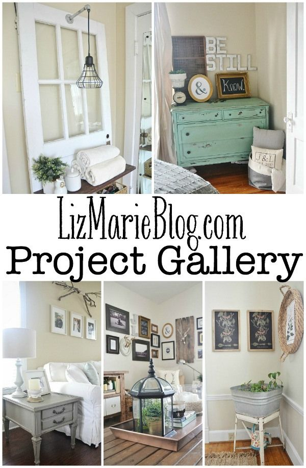 A must pin! A lovely project gallery updated weekly with DIY projects, home decor, tips & tricks, & more!