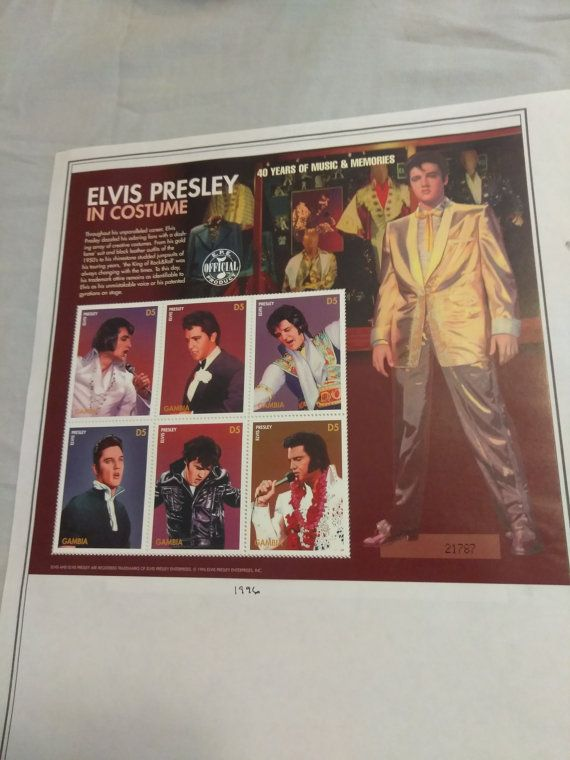 Check out this item in my Etsy shop https://www.etsy.com/listing/488381058/1996-vintage-mint-sheet-elvis-presley-in