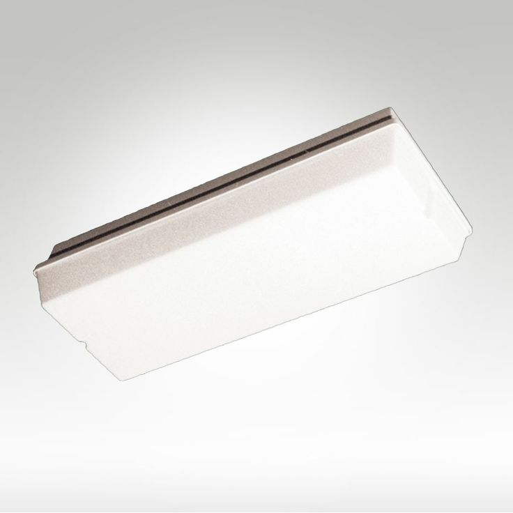 FAMCO F9936/D or F9936W/D IP44 or IP65 Weatherproof Non-Maintained Bulkhead with Opal Diffuser #EmergencyLighting