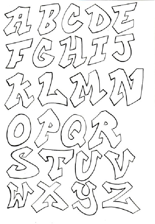 Image detail for -Lettering styles a-z