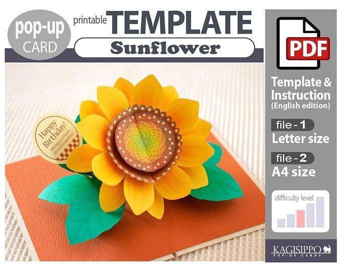 Pattern Pop Up Card Biplane Pdf Digital Download File Pop Up Pop Up Box Cards Card Patterns