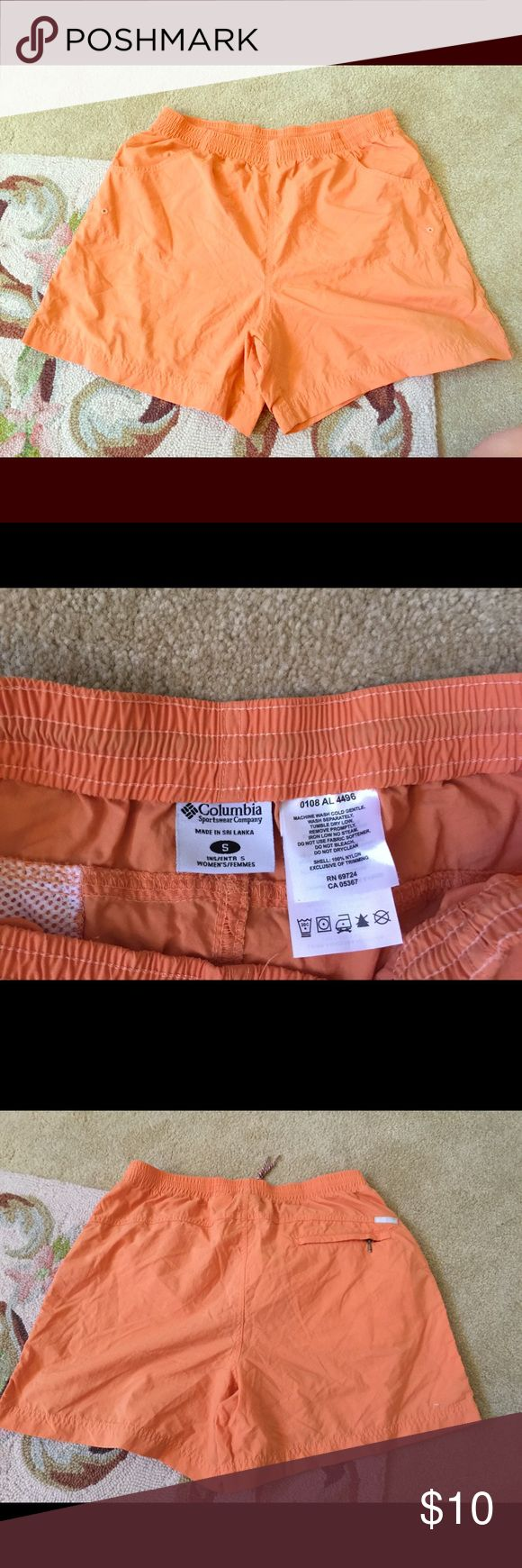 Women's Columbia fishing shorts small EUC only worn a couple of times. Purchased at Academy in 2010. Very comfy fishing shorts with pockets. Columbia Shorts