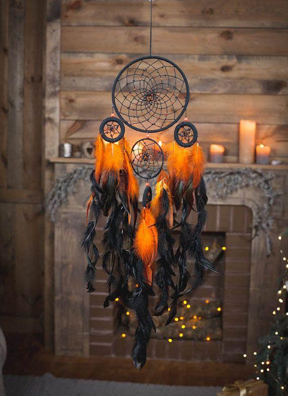 Fire Dreamcatcher, Bohemian Dream Catcher,Wall Hanging Dream catcher.dream catcher wall hanging mobile.wall hanging dreamcatcher | shopswell