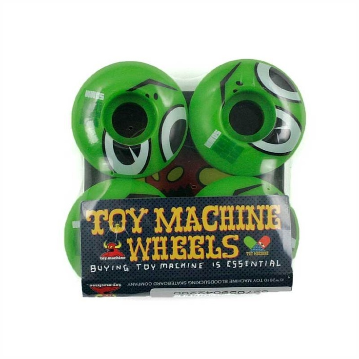 TOY MACHINE TURTLE HEAD GREEN