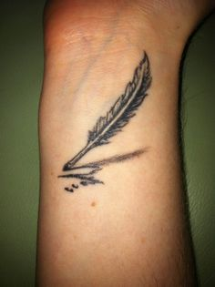 Awesome Tattoos on Pinterest | Quill Pen Tattoo, Quill and Quill ...