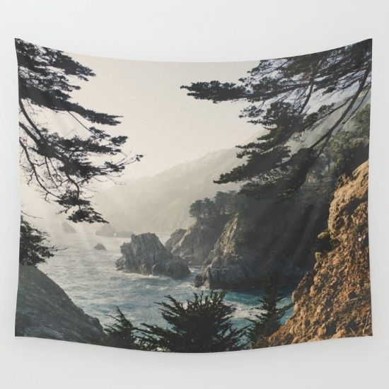 Buy Big Sur Wall Tapestry by Ryan Matthew. Worldwide shipping available at Society6.com. Just one of millions of high quality products available.