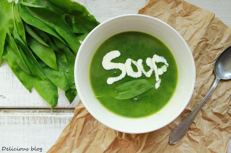 Delicious blog: Polévka z medvědího česneku