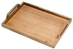 Simple timber tray